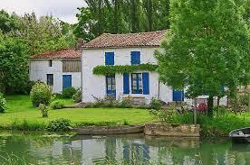 Marais poitevin maison charentaise